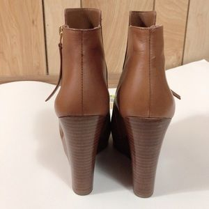 MICHAEL Michael Kors Shoes - MICHAEL Michael Kors Brown Leather Ankle Booties